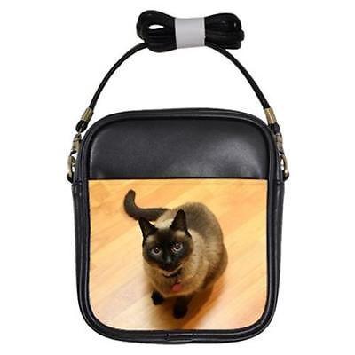 Siamese Cat Girls Sling Bag