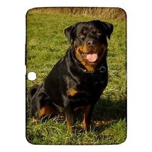 "Rottweiler Puppy Dog Hardshell Case for Samsung Galaxy Tab 3 10.1"" P5200 - $18.74"