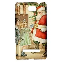 A Merry Christmas Santa Claus Stockings Hardshell Case for HTC Windows P... - $14.07