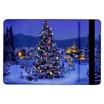 Christmas Tree at Night Snowman Flip Case for ipad Air - $17.81
