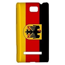 Germany German Flag Hardshell Case for HTC Windows Phone 8s - $14.07