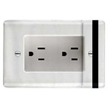 Electrical Outlet Plug-in Flip Case for ipad Air - $17.81