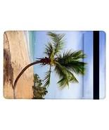 Tropical Island Palm Tree Beach Sand Ocean Flip Case for ipad Air - $17.81
