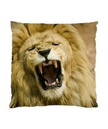 Roaring Lion Two-Sided Cushion Pillow Case - £10.76 GBP
