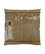 Ancient Egypt Book of the Dead Two-Sided Cushion Pillow Case - $14.07