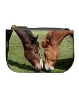 Grazing Horses Coin Bag Purse - $4.72