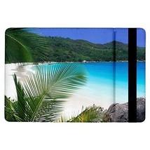 Tropical Island Ferns Beach Sand Blue Ocean Flip Case for ipad Air - $17.81