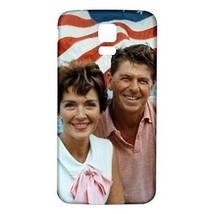 Ronald Nancy Reagan White Back Hardshell Case for Samsung Galaxy S5 i9600 - $15.00