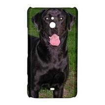Black Lab Labrador Retriever Puppy Dog Hardshell Case for Nokia Lumia 1320 - $14.07