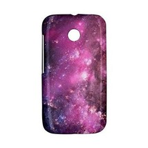 Purple Nebula Galaxy Universe Outer Space Hardshell Case for Motorola Mo... - $14.07