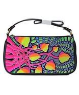 Hippy Tie-Dye Mushrooms Psychedelic Shoulder Clutch Bag - $16.87