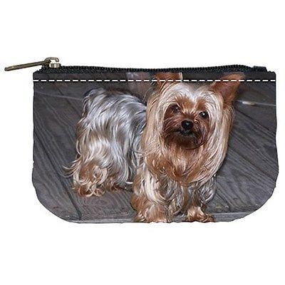 Yorkshire Terrier Puppy Dog Womens Coin Bag Purse