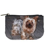 Yorkshire Terrier Puppy Dog Womens Coin Bag Purse - $4.72