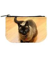 Siamese Cat Kitty Kat Womens Coin Bag Purse - $4.72
