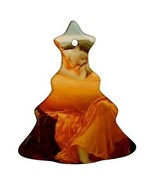 Frederick Leighton Flaming June Porcelain Christmas Tree Shaped Ornament - $4.72