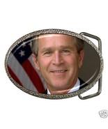 George W Bush Belt Buckle New President Republican - $7.52