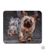 Yorkshire Terrier Puppy Dog Computer Mousepad - $6.59