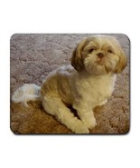Shih Tzu Puppy Dog Photo Computer Mousepad New - $6.59