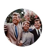 Kennedy Bros Round Christmas Ornament JFK RFK Ted - $4.72