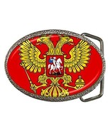 Russia Russian Federation Coat of Arms Belt Buckle - $7.52