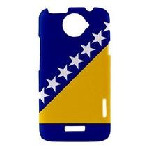 Bosnia and Herzegovina Bosnian Flag Hardshell Case for HTC One X - $14.07