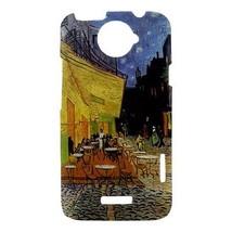 Van Gogh Night Terrace Hardshell Case for HTC One X - $14.07