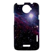 Block Big Nebula Galaxy Universe Outer Space Hardshell Case for HTC One X - $14.07