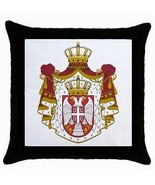 Serbia Serbian Coat of Arms Throw Pillow Case - $12.20