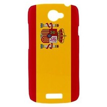 Spain Spanish Flag Hardshell Case for HTC One S - $14.07