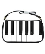 Piano Keys Keyboard Shoulder Clutch Bag - $16.87