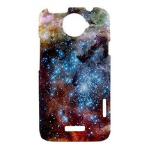 Merging Clusters Nebula Galaxy Outer Space Hardshell Case for HTC One X - $14.07
