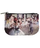 Edgar Degas The Dance Class Womens Coin Bag Purse - $4.72