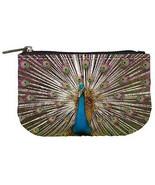 Indian Peacock Womens Coin Bag Purse - $4.72