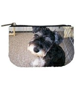 Miniature Schnauzer Puppy Dog Womens Coin Bag Purse - $4.72