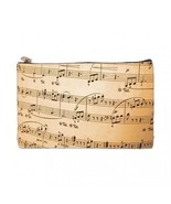 Music Notes 2 Sided Cosmetic Bag Medium Size - $8.46