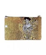 Gustav Klimt Portrait of Adele Bloch Bauer 2 Sided Cosmetic Bag Medium Size - $8.46