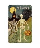 Halloween Skeleton Graveyard Pumpkin Hardshell Case for Amazon Kindle Fire - $14.07
