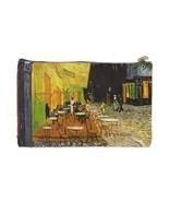 Van Gogh Night Terrace 2 Sided Cosmetic Bag Medium Size - $8.46