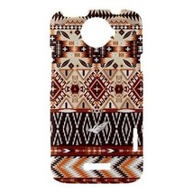 Aztec Geometric Tribal Pattern Hardshell Case for HTC One X - $14.07
