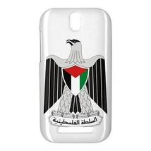 Palestine Palestinian Coat of Arms Hardshell Case for HTC One SV - $14.07