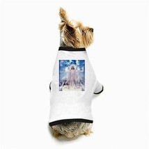 Christmas Angel Earth Snow White Dog T-Shirt - $11.26