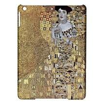 Gustav Klimt Portrait of Adele Bloch Bauer Hardshell Case for ipad Air - $18.74