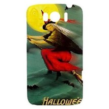 Halloween Flying Witch Bats Full Moon Hardshell Case for HTC Sensation XL - $14.07