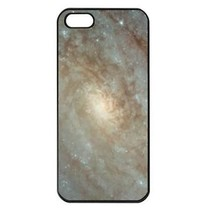 Center of Galaxy Whirlpool Space Nebula Seamless Black Case for iphone 5S - $14.07