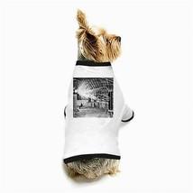 Nikola Tesla Laboratory Lightning Coil White Puppy Dog T-Shirt - $11.26