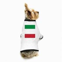 Italy Italian Flag White Puppy Dog T-Shirt - $11.26