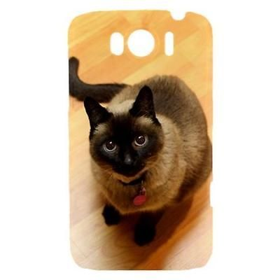 Siamese Cat Kitty Kitten Hardshell Case for HTC Sensation XL