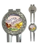 Easter Greetings Chicks Egg Worm 3-in-1 Golf Divot - $8.46