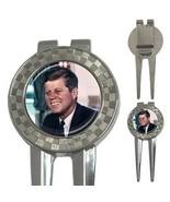 John F Kennedy Democrat President 3-in-1 Golf Divot - $8.46