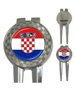 Croatia Croatian Flag 3-in-1 Golf Divot - $8.46